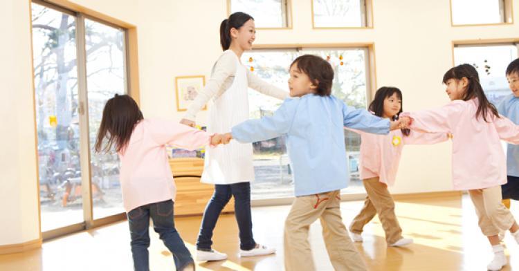 【京成八幡駅から徒歩3分】定員39名の小規模園☆家賃補助制度☆研修があるので未経験の方も安心♪